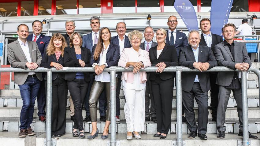 jurysitzung düsseldorfer des jahres 2019 im tulip inn hotel gruppenbild